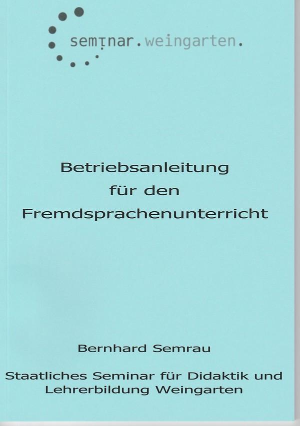 Betriebsanleitung Fremdsprachen-unterricht